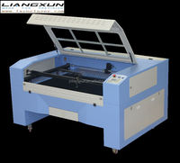 LX1390E cheap laser cuting and engraving machine for mixed cotton