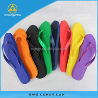 2015 New design candy color rubber flip flop with Wholesale Price