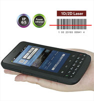Rugged Android PDA/Industrial Mobile Computer with Barcode Scanner RFID reader
