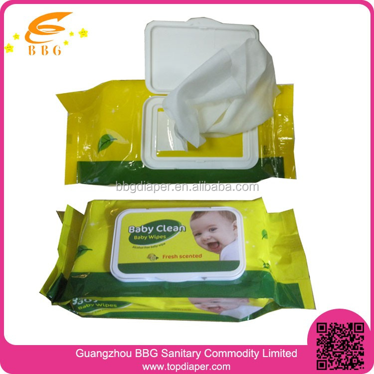80pcs fruit flavor skin cleaning baby wipes manufacturers in china