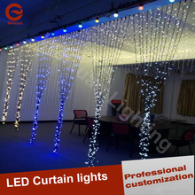 Various colors LED Curtain light for wedding decoration lights houseware holiday lighting