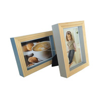 Pine Wood Picture Frames with various colors and sizes