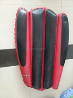 PVC inflatable snow sled,inflatable ski board, kids snow ski sled