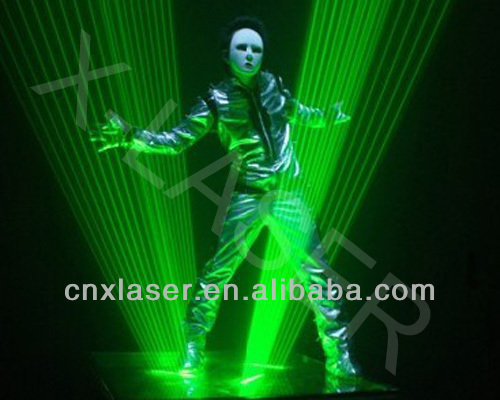 Super Single Green Laser Dance, laser dance show equipment