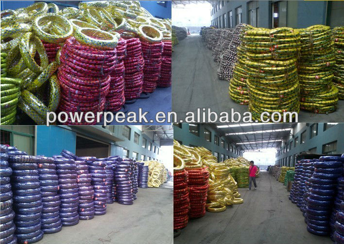 Tyre package in factory