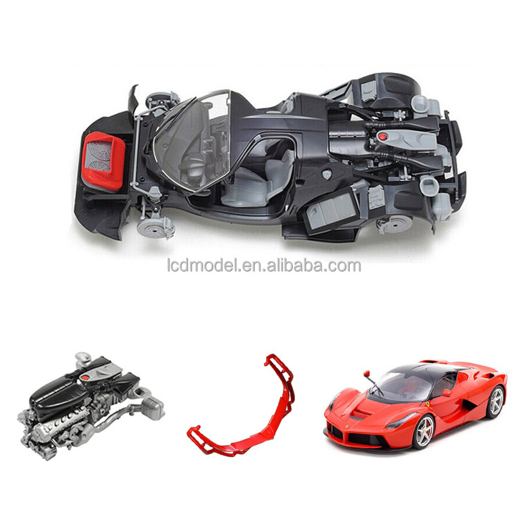plastic car model kits