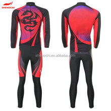 Custom Thermal Cycling Wear / Long Sleeve Cycling Jersey / crane Cycle Clothing