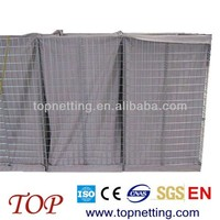 good quality hesco blast wall with non-woven geotextileing