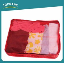 Toprank Wholesale China factory high quality nylon travel packing cubes storage organizer