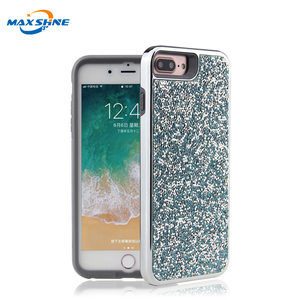 MaxShine Crystal Sparkle Diamond Mobile Phone Shell For Iphone 6/7/8 Protective Case