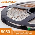 High quality 5050 60PCS/M 12V lighting strip led