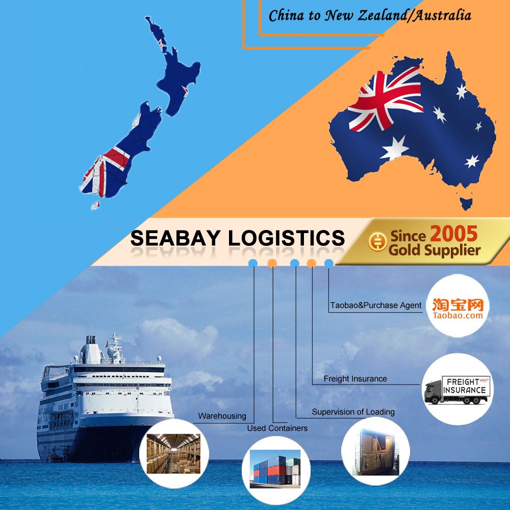 Competitive container sea freight shipping from china to Australia