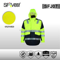 ISO EN 20471 Safety Jacket with Teflon coating