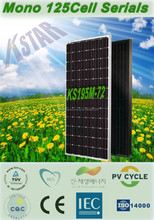A-grade cell high efficiency mono 195w PV solar panel