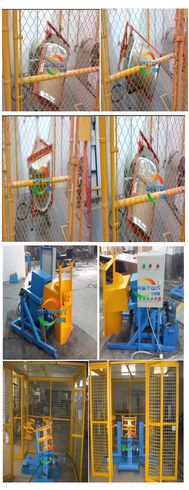 Explosion-proof drum mixer/Automatic mixer /Pneumatic lift mixer
