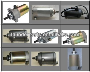 Starting motors parts for GY6 scooters,50cc,60cc,100cc,125cc,150cc