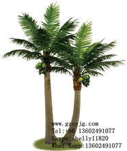 decorative high simulation artificial palm trees fake coconut tree landscape
