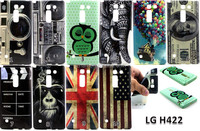 New camera dollars flag printing Flower TPU Case Cover for LG Spirit / H440 C70
