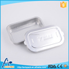 Large capacity rectangular non toxic aluminum food container for airplane