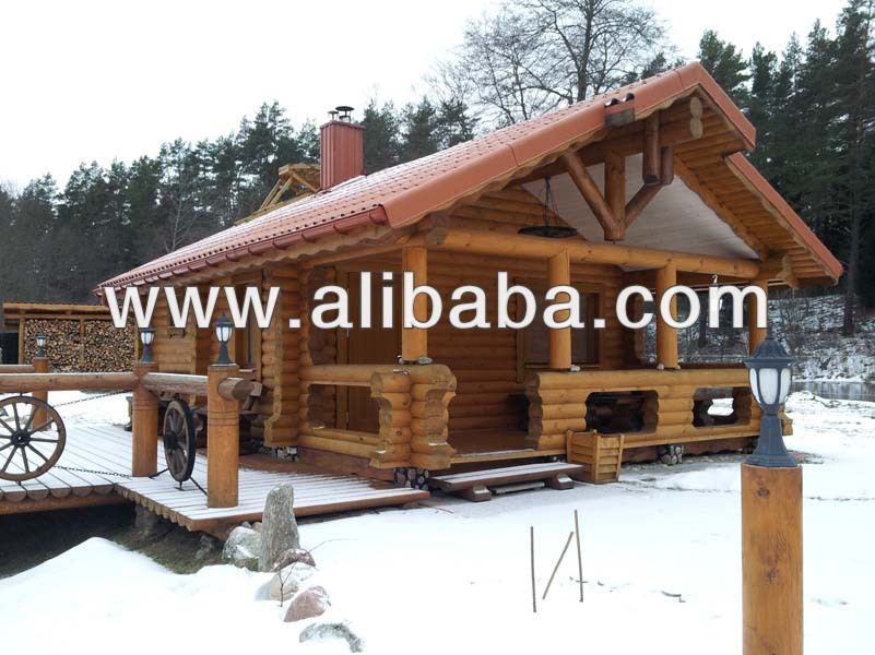 Log houses, log home, prefab houses