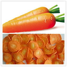 Process dried vegetable Carrot Chips with low price