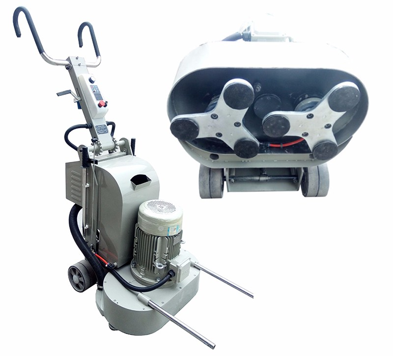 Heavy Duty Concrete Grinder Double Heads Floor Polishing Machine