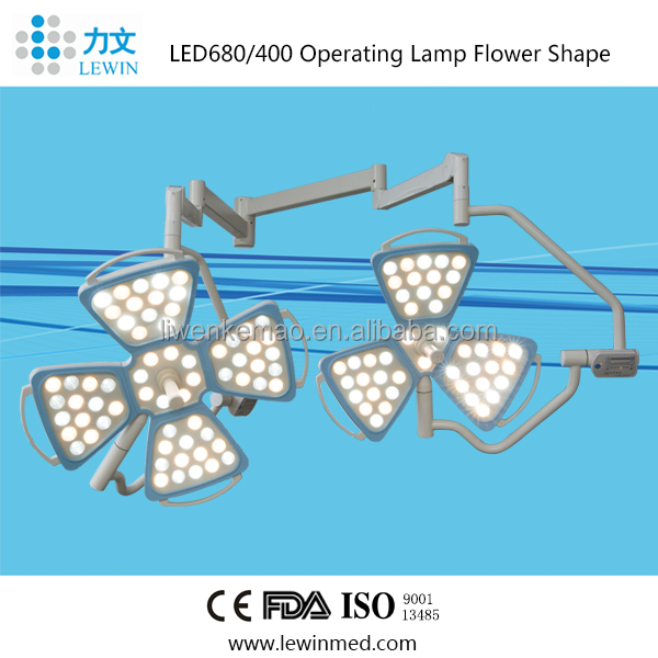 Shandong medical equipments, LED680/400 Double dome LED Operating Lamp, Surgical Lights