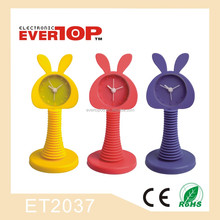 PROMOTIONAL GIFT SILICONE SWING CLOCK ET2037