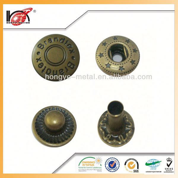 Custom Novel Craft Snap Buttons Button China Manufacturer