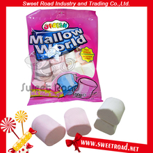 Good Delicious Hot Sale Steamed Bun Shaped Marshmallow Candy