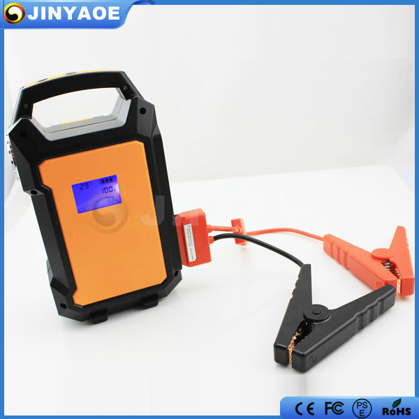 CE/ROHS/FCC approved 12v/24v all cars almighty jump start 600a 38000mah quick start power bank