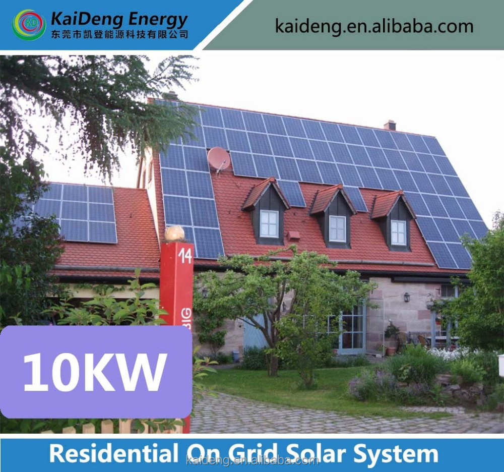 10kw pitched Roof PV home solar power Racking system / 10KW solar system for home / solar home system for on grid 10KW