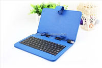 "Wired Universal USB Keyboard with Stand Leather Case Cover for 7"" 8"" 9"" 9.7 ""10 Inch Tablet PC MID"