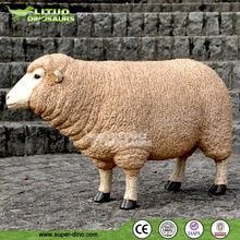 Simulation Animal Animatronic Life Size Sheep
