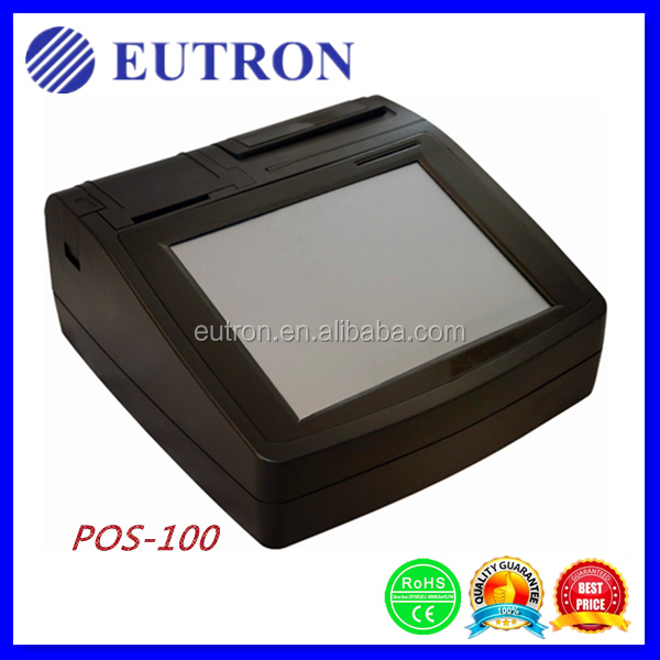 nfc reader thermal printer pos terminal, touch screen POS terminal with thermal printer
