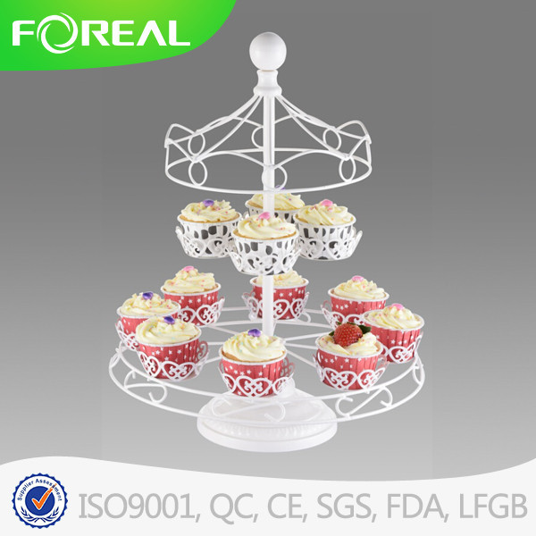 Wholesale Eco-friendly cupcake stand for wedding