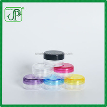 Plastic 3ml 5ml 10ml 15ml 20ml 30ml Cream Sample Jar Cosmetic Jar Mini Jar