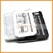 Folding Leather Bluetooth Wireless Detrachable Keyboard Case For iPhone 6 6plus