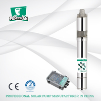 3 inches Pumpman solar dc motor submersible water pump