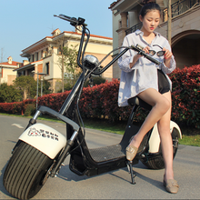 2018 2000W hot cool citycoco electric scooter with big tyre removeable 60V20AH battery
