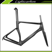 2016 LightCarbon Oem Supply BB86 Bottom Bracket Full Carbon Fiber Road Bike Frame From China LCR009-V