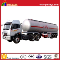 New Condition Semi Trailer Stainless Steel Truck Milk Tank