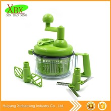 New Mini Manual plastic/PP cheap choppers hand professional vegetable chopper