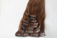 brazilian thick bottom virgin hair remy double drawn human hair cheap clip in hair extension
