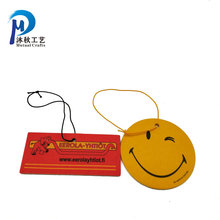 Cheap wholesale eco-friendly car air freshener paper custom hotel air freshener