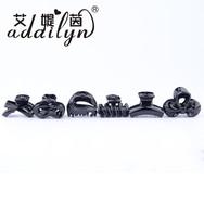 Korean Black Hair Accessories ABS Hair Claw Clip