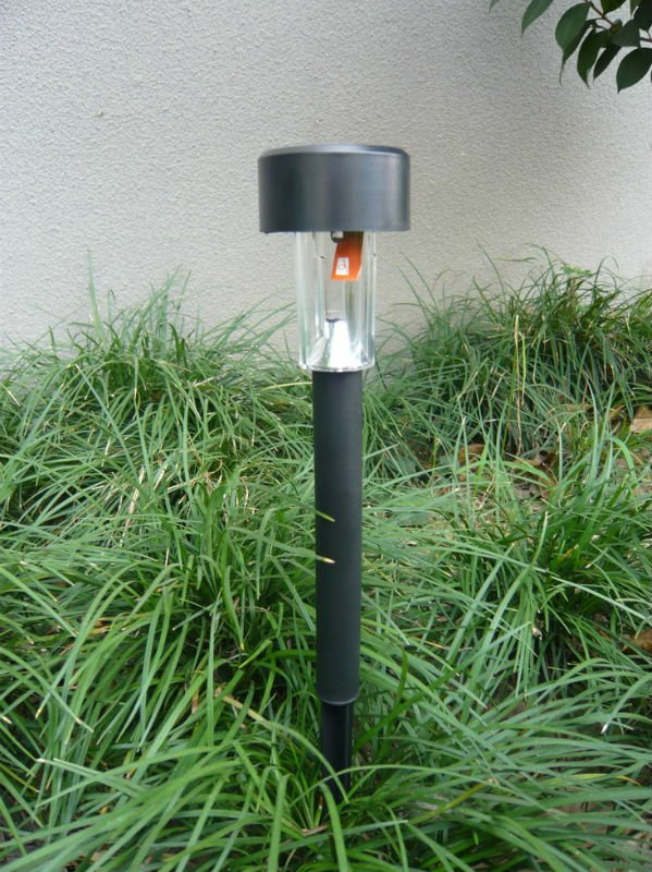 solar black plstc stk light