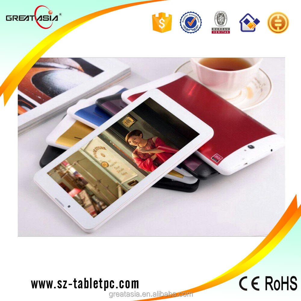 Phablet 7 inch 3G Android Dual Core Tablet PC MTK6572 RAM 512MB ROM 4GB Dual SIM card GPS Bluetooth FM Tablet