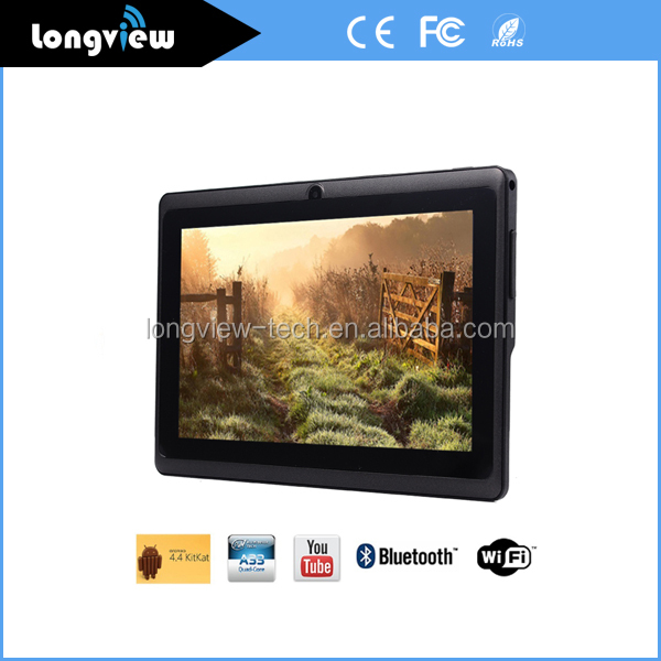 "7"" Cheapest A33 Action7029 Action7031 Quad Core 512MB/1GB + 4GB/8GB tablet pc android with Trade Assurance"