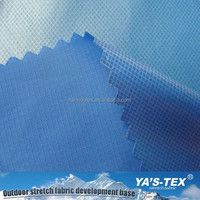 Free Sample Available Solid Color Woven Recycled Polyester Fabric Coated PU Fabric/ RPET Coated Fabric For Tent